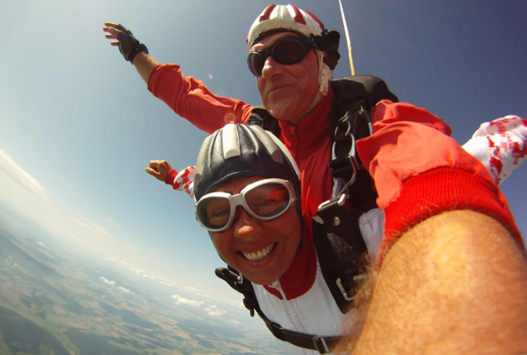 Fallschirmspringen Arnbruck Tandemsprung