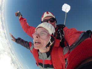 Tandemsprung Fallschirmspringen