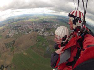 Fallschirmspringen Geschenkidee Bayern