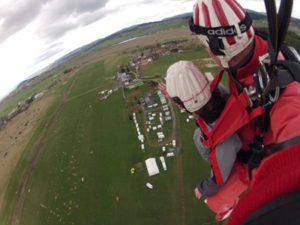 Fallschirm Tandemsprung Klattau