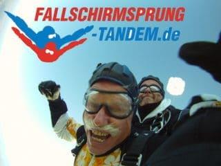 Fallschirmspringen Bilder vom Tandemsprung