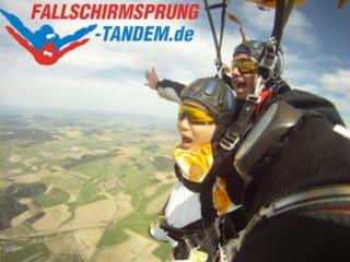 Fallschirmspringen-Geschenk-Tandemsprung
