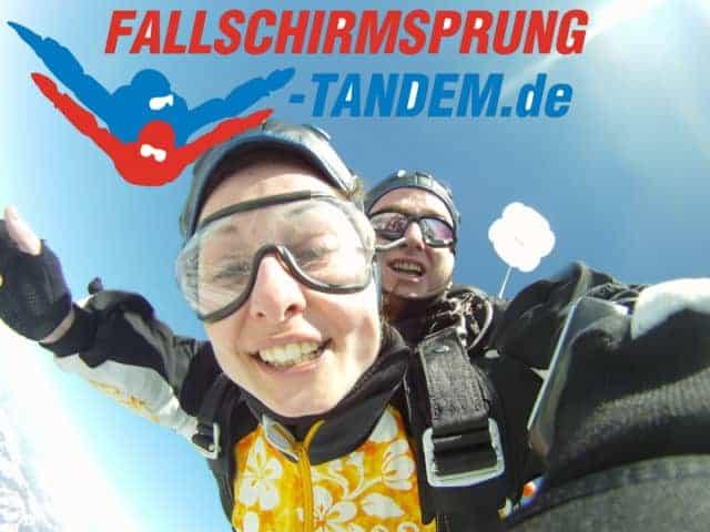 Fallschirmspringen Geschenk