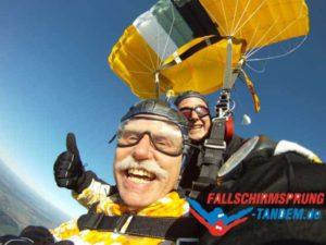 Fallschirmspringen Gewicht Grenze