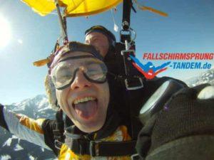 Fallschirmspringen Tandemsprung Gutschein