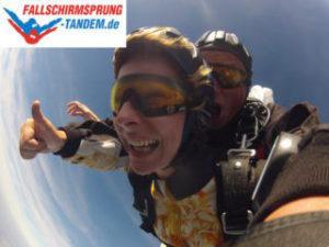 Gib einen Skydive