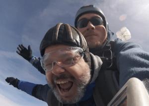 Fallschirmsprung Unterfranken Kitzingen Segnitz Fallschirmspringen